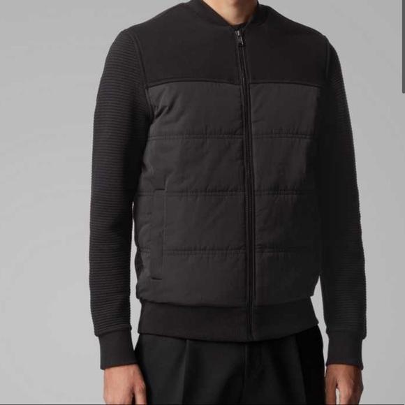 🆕 Hugo Boss Bomber-style Jacket